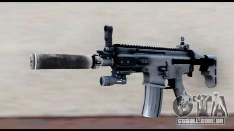 MK16 PDW Advanced Quality v2 para GTA San Andreas