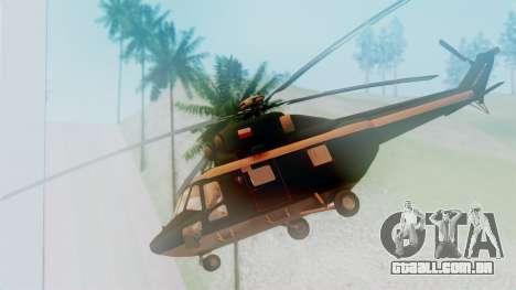 PZL W-3A Sokol para GTA San Andreas