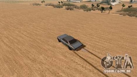 Offroad Effect para GTA San Andreas segunda tela