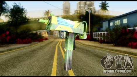 Brasileiro Micro Uzi para GTA San Andreas