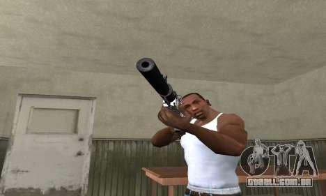Black Lines Rifle para GTA San Andreas segunda tela