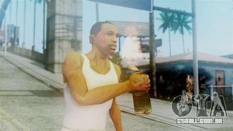 Red Dead Redemption Molotov para GTA San Andreas terceira tela
