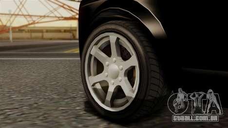 GTA 5 Enus Super Diamond para GTA San Andreas traseira esquerda vista