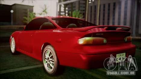 Mazda MX-6 (GE5S) para GTA San Andreas esquerda vista