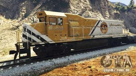 Engenheiro ferroviário v3.1 para GTA 5