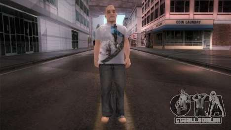dnb1 Skin in Snowboard T-Shirt para GTA San Andreas segunda tela