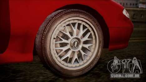 Mazda MX-6 (GE5S) para GTA San Andreas vista traseira