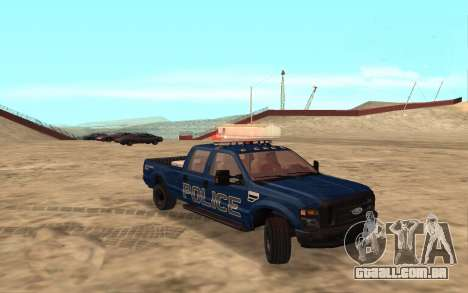 Ford F-250 Incident Response para GTA San Andreas