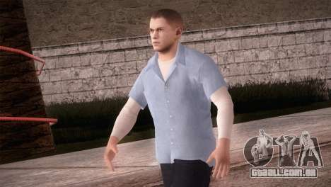 Michael Scofield Prisão formulário para GTA San Andreas