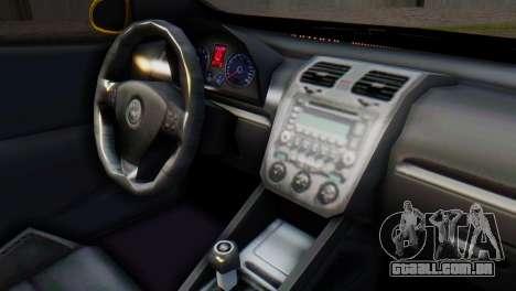 Volkswagen Golf R32 AirQuick para GTA San Andreas vista direita