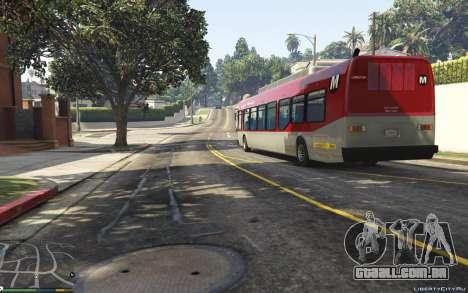 GTA 5 New Bus Textures v2 voltar vista