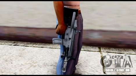 MK16 PDW Advanced Quality v2 para GTA San Andreas terceira tela
