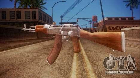 AK-47 v3 from Battlefield Hardline para GTA San Andreas segunda tela
