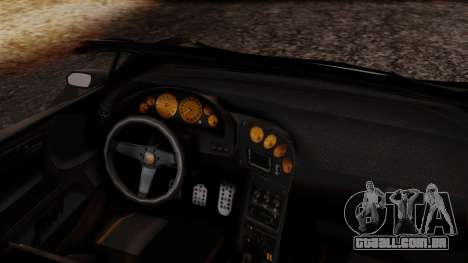 Pegassi Zentorno Cabrio v2 para GTA San Andreas vista direita