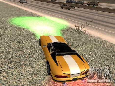 Xenon para GTA San Andreas segunda tela