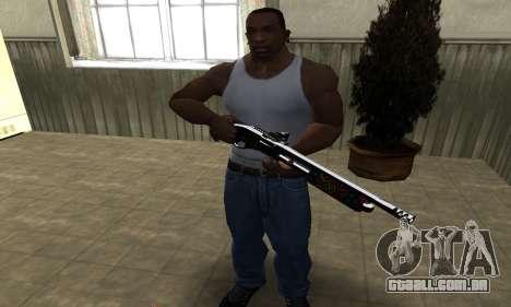National Shotgun para GTA San Andreas terceira tela