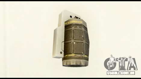 Grenade from Crysis 2 para GTA San Andreas