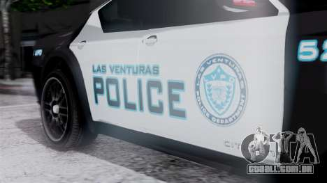 Hunter Citizen Police LV IVF para GTA San Andreas vista direita