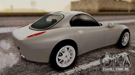 Alfa Romeo Nuvola para GTA San Andreas esquerda vista