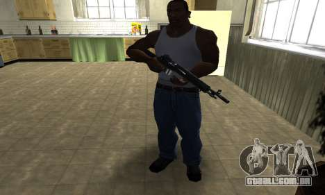 Modern Black Rifle para GTA San Andreas terceira tela