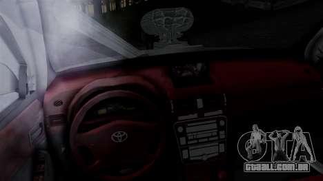 Toyota Hilux 2015 para GTA San Andreas traseira esquerda vista