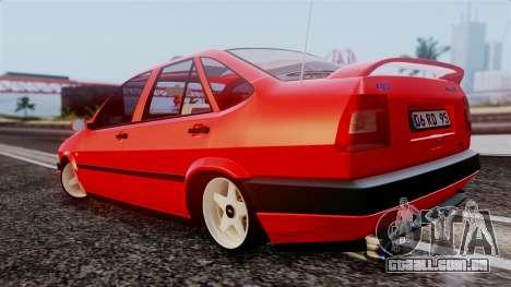 Fiat Tempra para GTA San Andreas esquerda vista