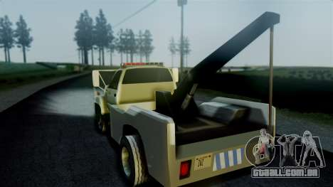 GMC Topkick Towtruck para GTA San Andreas esquerda vista