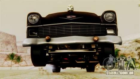 Chevrolet Bel Air 1956 Rat Rod Street para o motor de GTA San Andreas