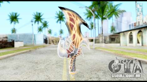 God Of War Blade of Exile para GTA San Andreas segunda tela