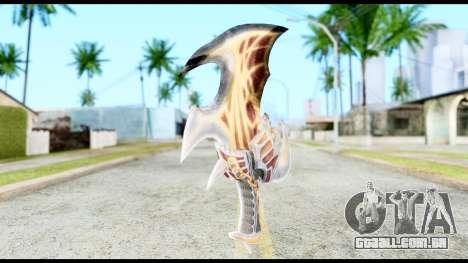 God Of War Blade of Exile para GTA San Andreas