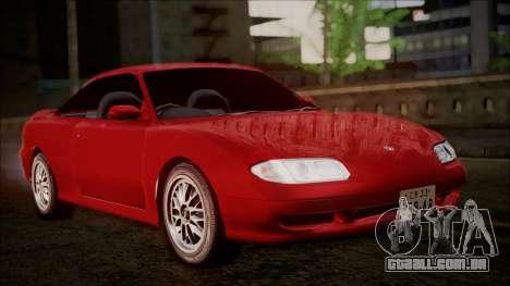 Mazda MX-6 (GE5S) para GTA San Andreas traseira esquerda vista