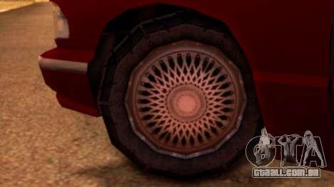 Premier Pickup para GTA San Andreas traseira esquerda vista