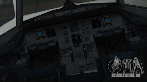 Airbus A320-200 Pan American World Airlines para GTA San Andreas vista interior