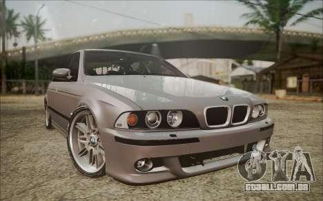 BMW M5 E39 E-Design para GTA San Andreas
