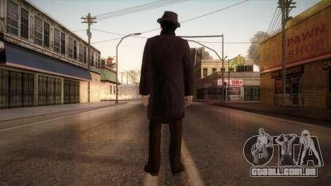 Sherlock Holmes v1 para GTA San Andreas terceira tela