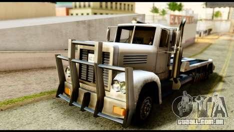 Packer Style DFT-30 para GTA San Andreas traseira esquerda vista