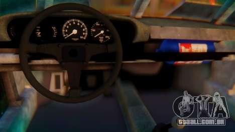 Porsche 911 Death Race para GTA San Andreas traseira esquerda vista