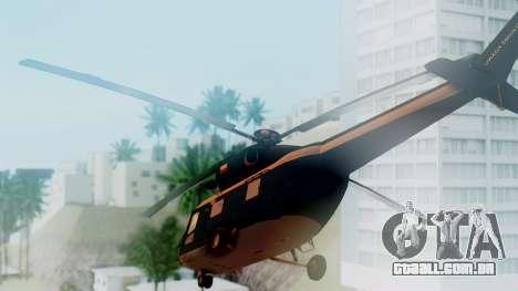 PZL W-3A Sokol para GTA San Andreas esquerda vista