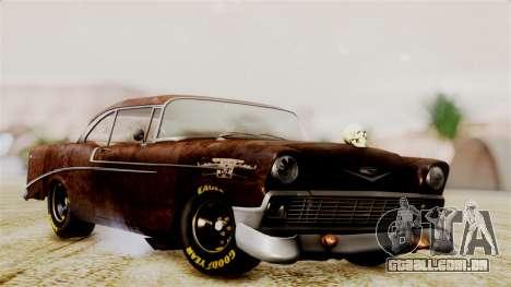 Chevrolet Bel Air 1956 Rat Rod Street para GTA San Andreas