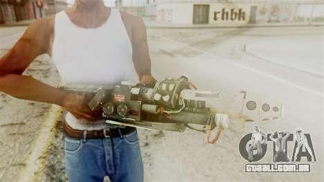 Ghostbuster Proton Gun para GTA San Andreas terceira tela