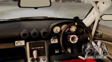 Nissan Silvia S15 24AUTORU para GTA San Andreas vista direita