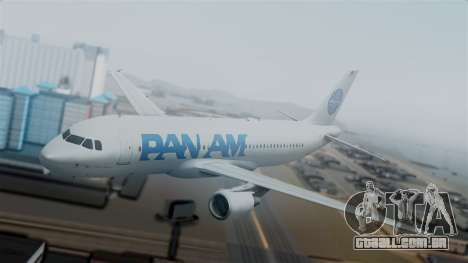 Airbus A320-200 Pan American World Airlines para GTA San Andreas