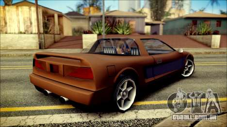 Infernus New Edition para GTA San Andreas esquerda vista