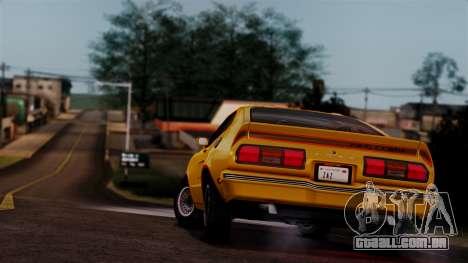 Ford Mustang King Cobra 1978 para o motor de GTA San Andreas