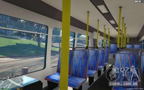 GTA 5 New Bus Textures v2 vista lateral direita