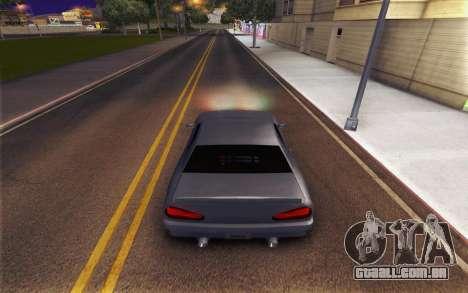 Elegy Explosion v1 para GTA San Andreas vista direita