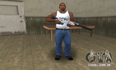 Black Lines Rifle para GTA San Andreas terceira tela