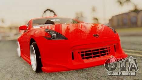 Nissan 370Z para GTA San Andreas