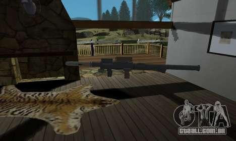 Homing Launcher from GTA 5 para GTA San Andreas segunda tela