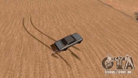 Offroad Effect para GTA San Andreas terceira tela